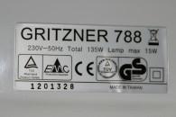 Gritzner 788 ist TÜV und GS geprüft